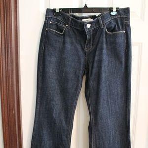 White House Black Market- Noir Flare jeans